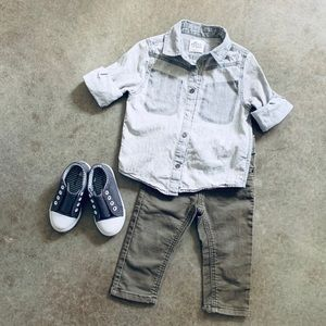 Boys 18 mo Green Jeans ONLY